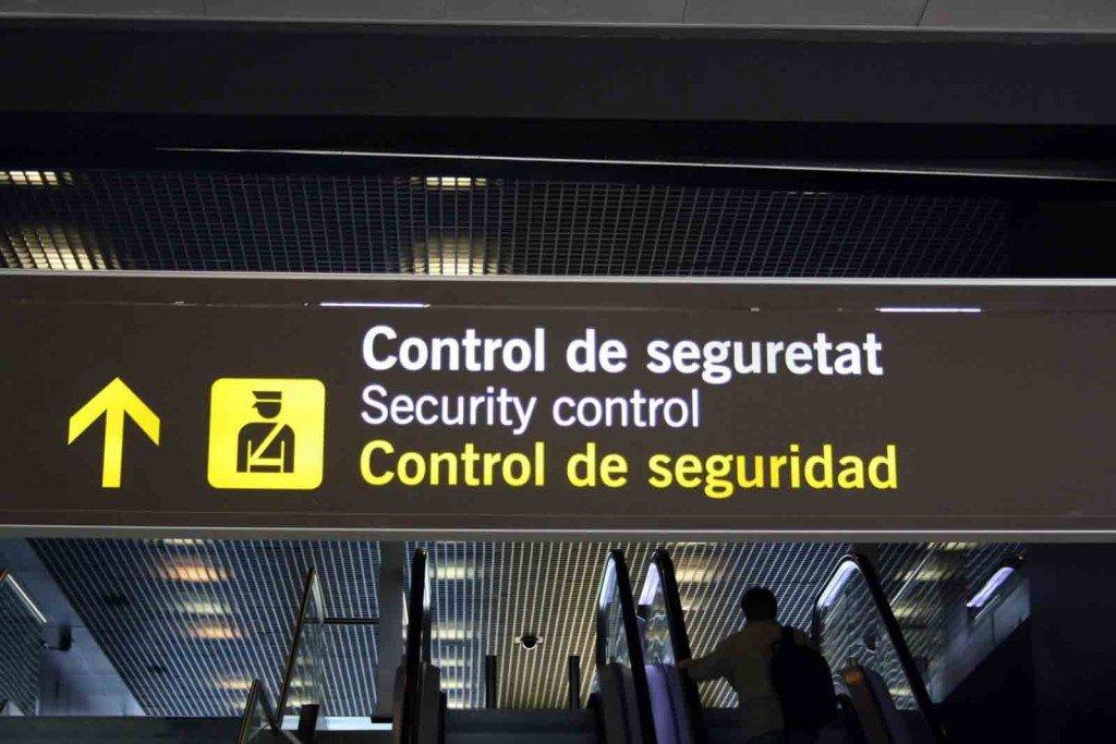 Como pasar control de seguridad aeropuerto con exito