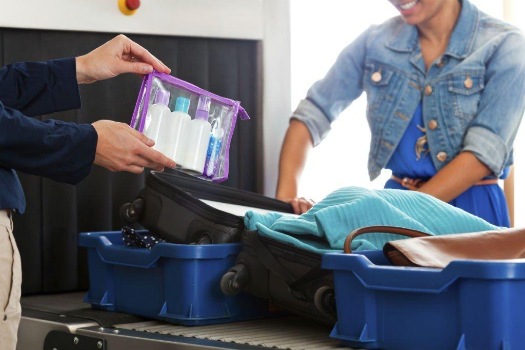 Objetos prohibidos en el equipaje de mano