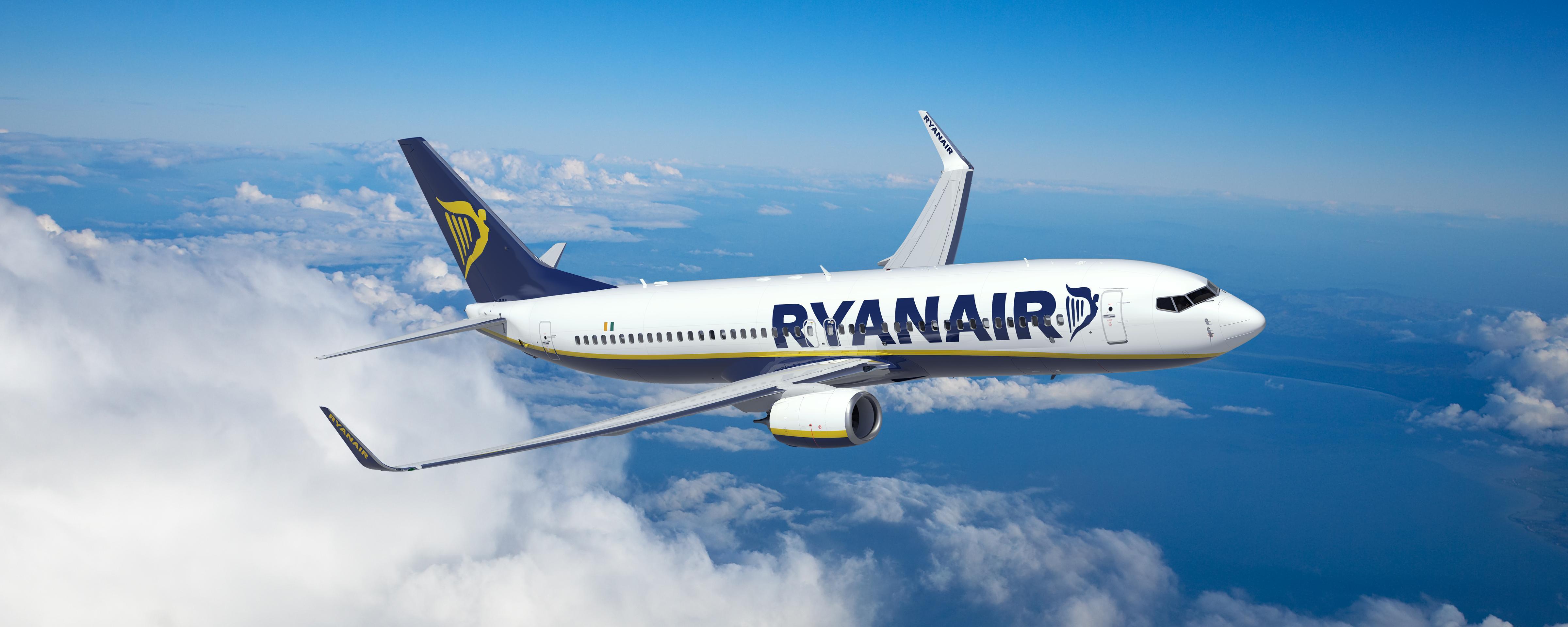 Equipaje de mano para viajar con Ryanair