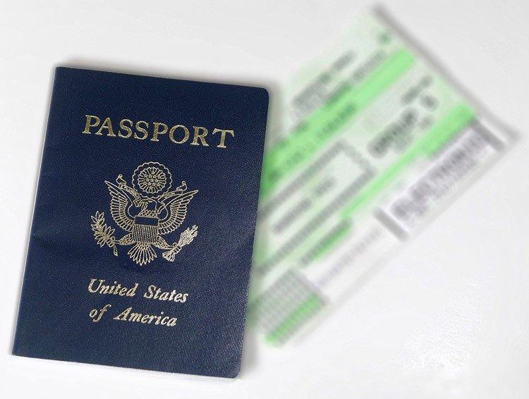 Documentacion viajar a EEUU