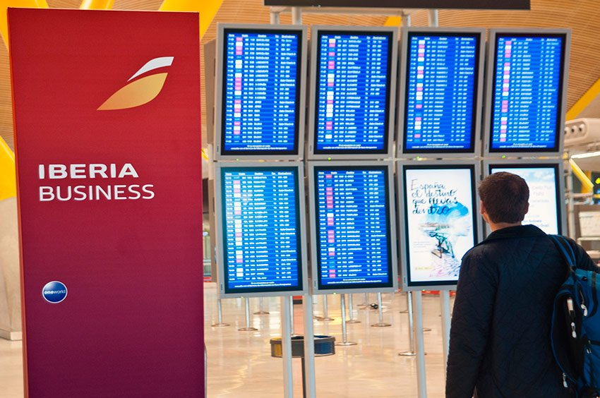 Equipaje de mano permitido en Iberia y en Iberia Express