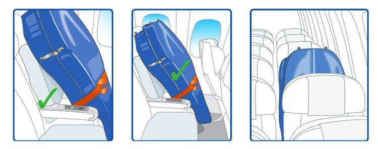 Instrumento musical cabina avión