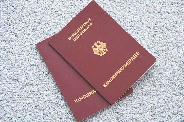 Documentos niños Vueling