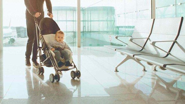 Mejores carritos plegables bebé viajar avión