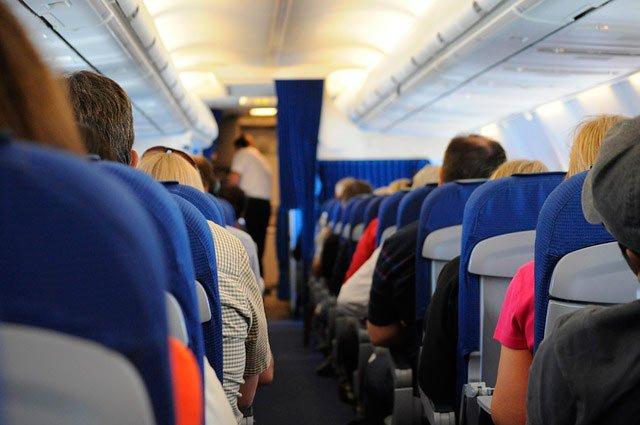 Equipaje viaje largo en avión