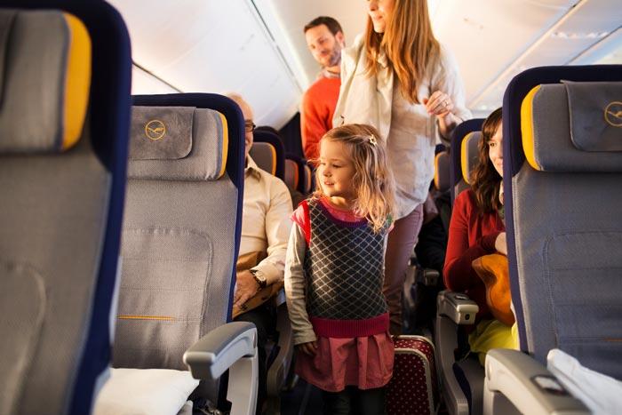 Equipaje permitido niños Lufthansa