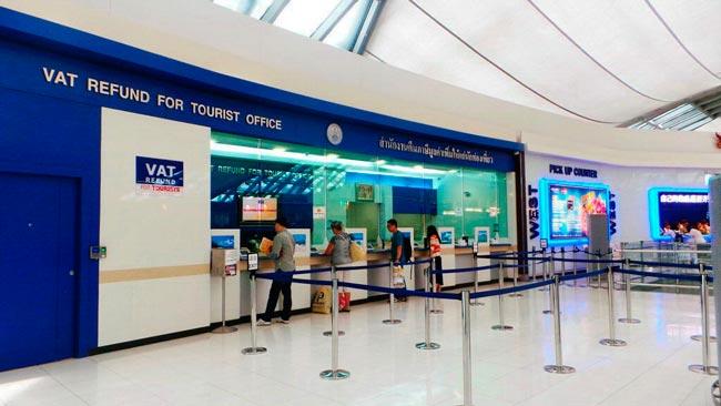 oficina devolución impuestos aeropuerto