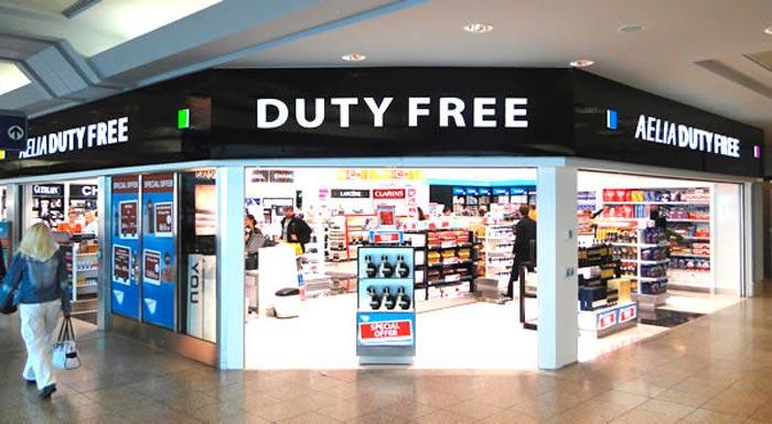 productos duty free en el equipaje de mano