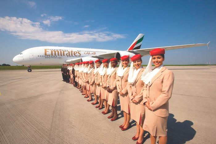 maleta cabina fly emirates