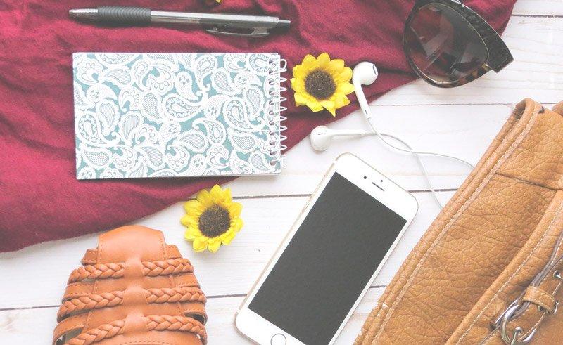 cosas cotidianas permitidas en la maleta de mano