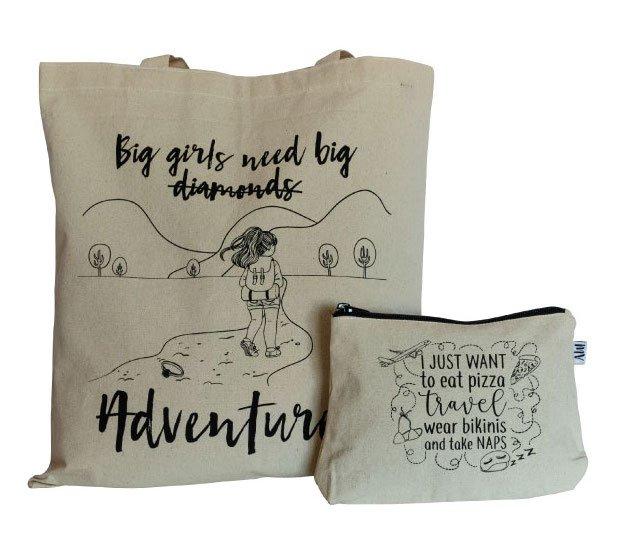 kit regalo ecológico para viajera