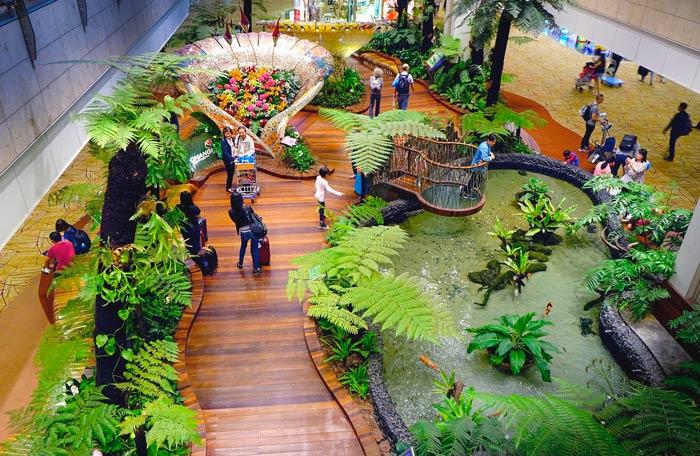 aeropuerto de changi singapore
