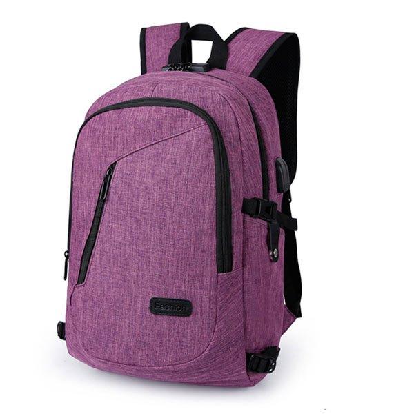 mochila de mano con candado