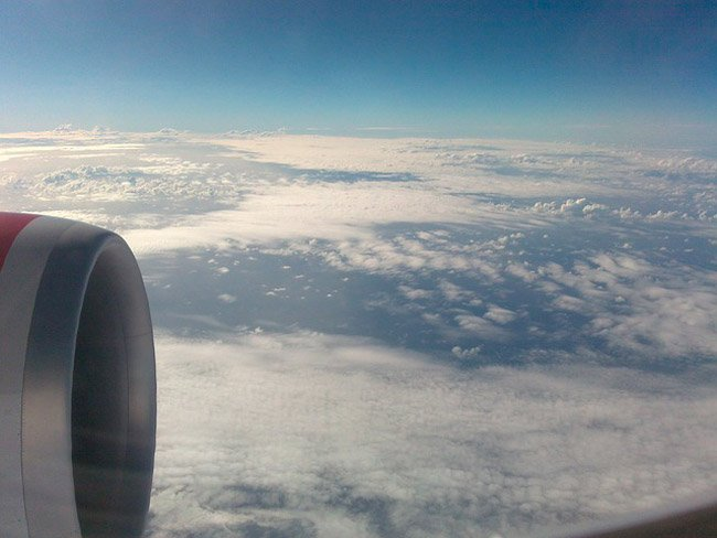 wi-fi en el avión