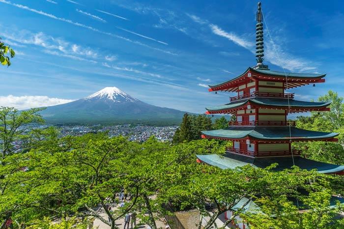 viaje de novios a japón