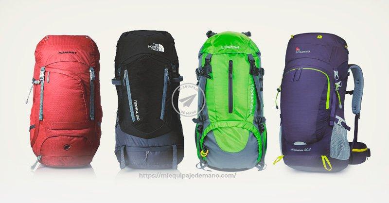 Mejores mochilas de mochilero para no facturar ¿Cuál comprar?