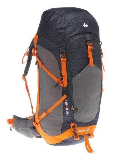 mochila viaje decathlon 40L