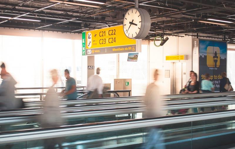 cómo hacer escala en el aeropuerto