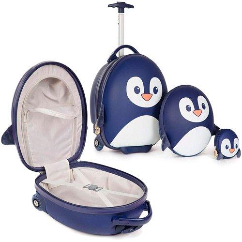 juego maletas de viaje niños