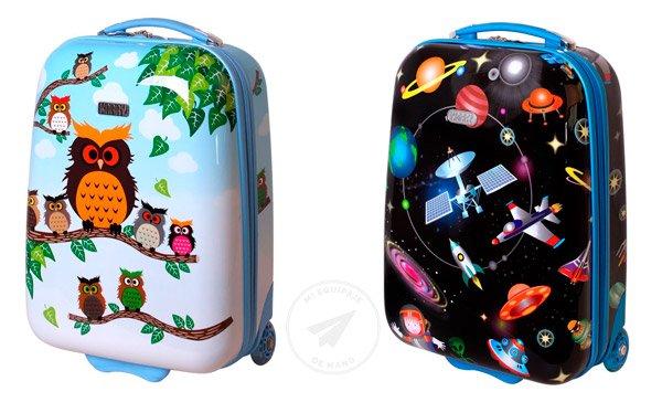 3c91eda1e Las 15 maletas infantiles (niños y niñas) más recomendadas