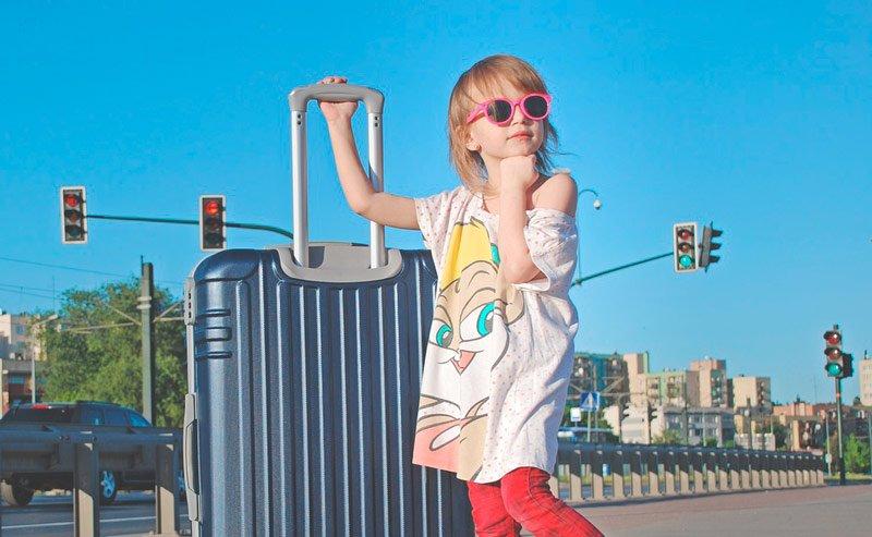 mejores maletas para niños