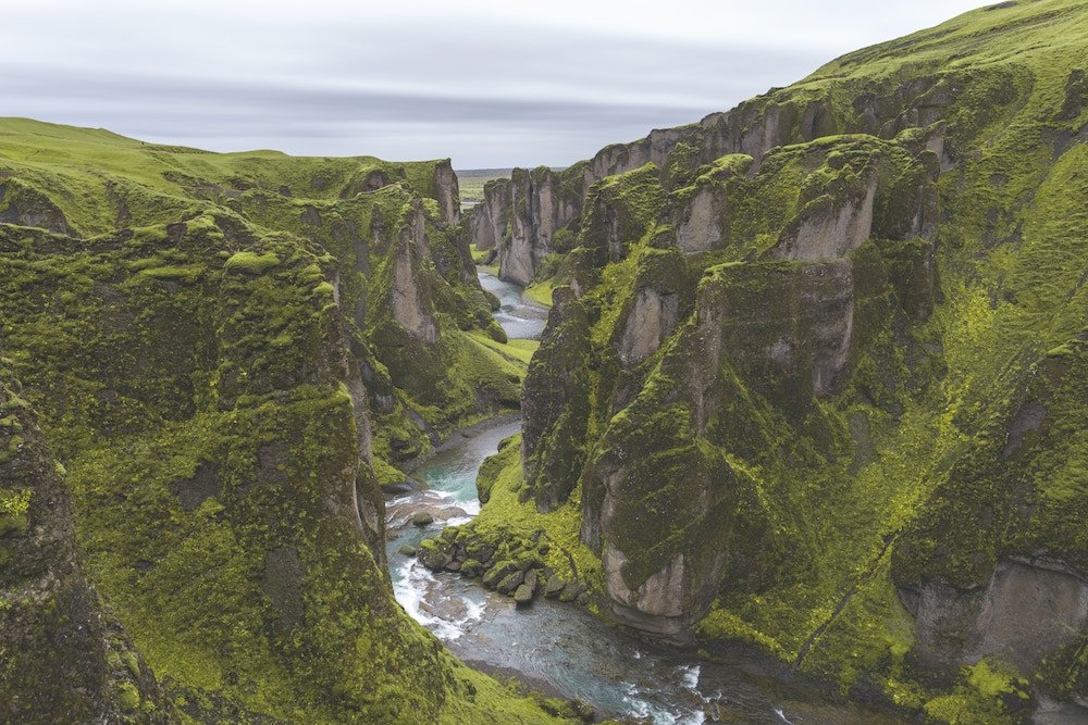 Sur Islandia cañón Fjadrargljufur