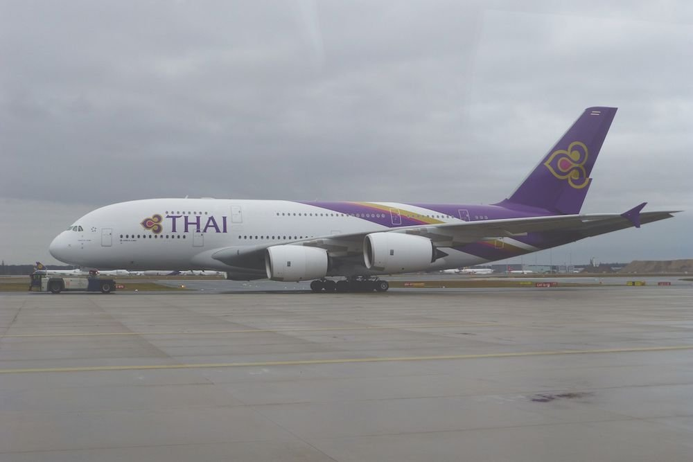 Equipaje permitido en Thai Airways