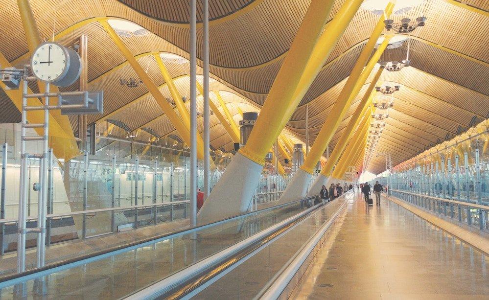 moverse por el Aeropuerto de Madrid